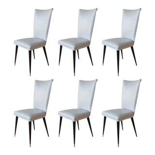 Italian Dining Chairs - Set of 6 For Sale