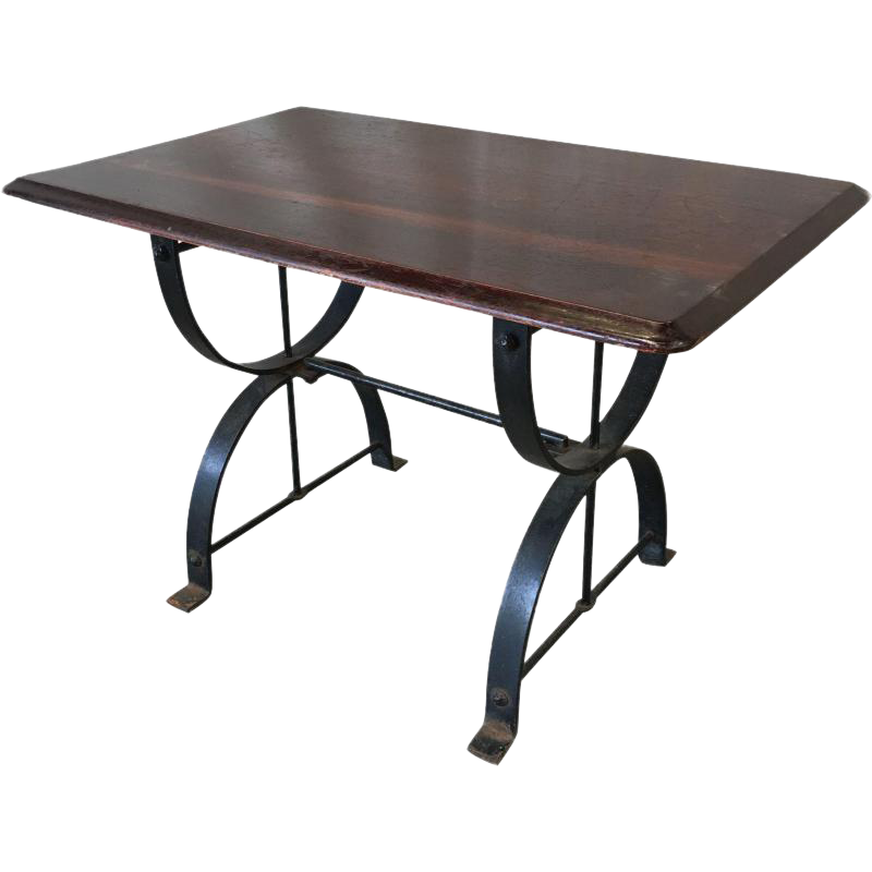 Gentil English Antique Pub Table For Sale