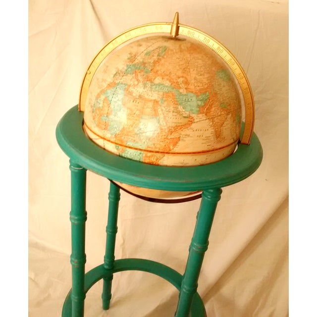 MCM Crams Imperial World Globe on Wooden Stand - Image 8 of 10