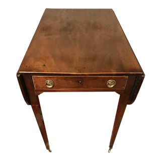 18th Century George III Mahogany Pembroke Table For Sale