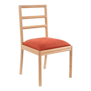 Varenne Side Chair in Red For Sale