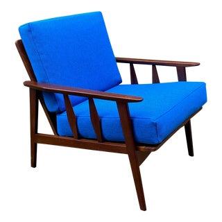 Mid Century Danish Modern Style Armchair For Sale