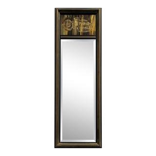 Bernhard Rohne Etched Brass Mirror for Mastercraft For Sale