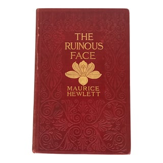 """""""The Ruinous Face"""" 1909 First Edition Book For Sale"""