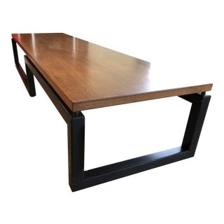 Michael Taylor for Baker Wooden Coffee Table