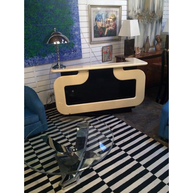 Black and Ivory Lacquer Dry Bar - Image 7 of 7