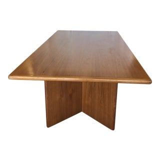 Dyrlund Danish Modern Teak Conference Table For Sale