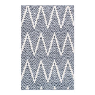 "Pasargad Simplicity Hand-Woven Cotton Rug- 9' 0"" X 12' 0"" For Sale"