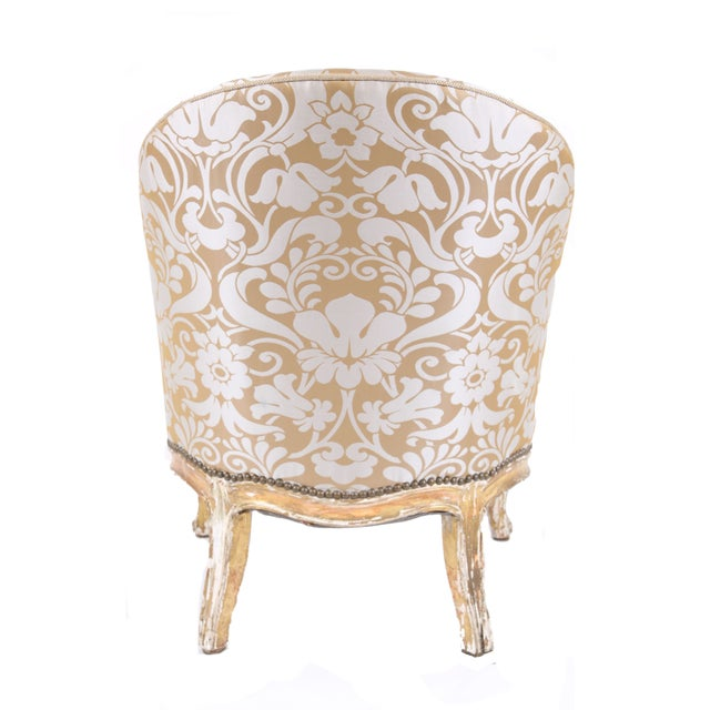 French Antique Napoleon III Armchair - Image 4 of 7