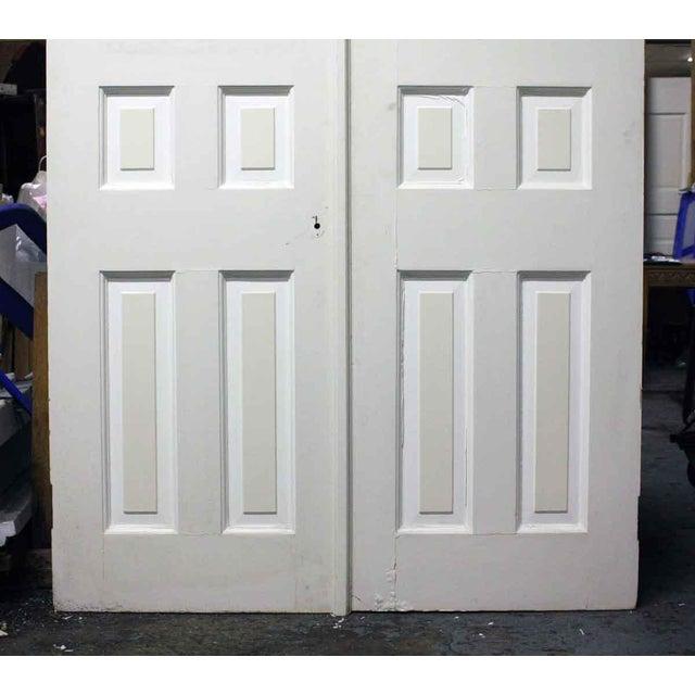Six Panel White Doors A Pair Chairish