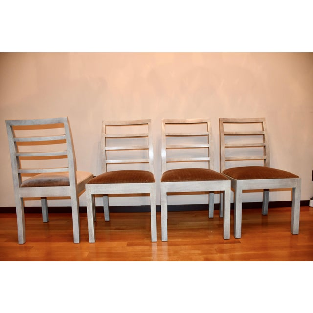 Thomas O'Brien Dara Ladder Back Dining Chairs - Set of 4 For Sale In New York - Image 6 of 6