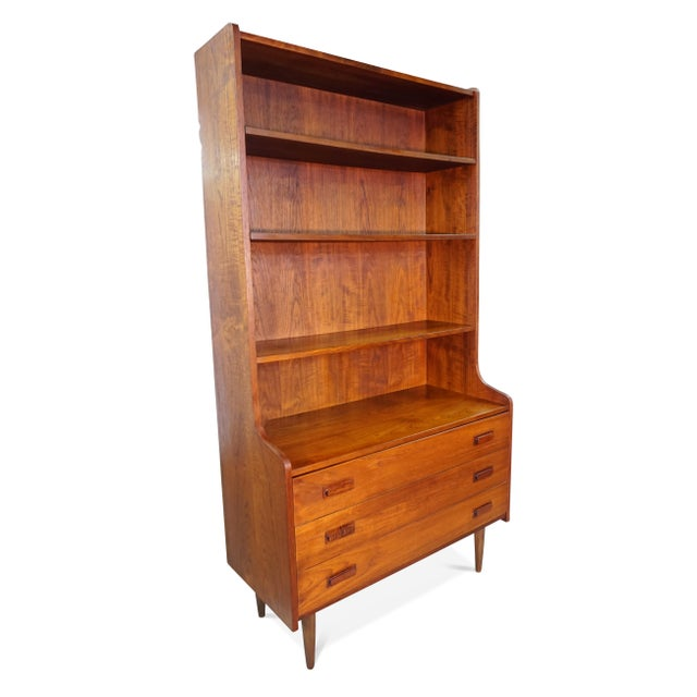 Original Danish Bookcase With 3 Drawers - Image 5 of 6