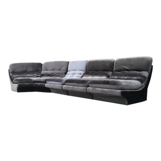 Vintage Space Age designer sofa by Vladimir Kagan