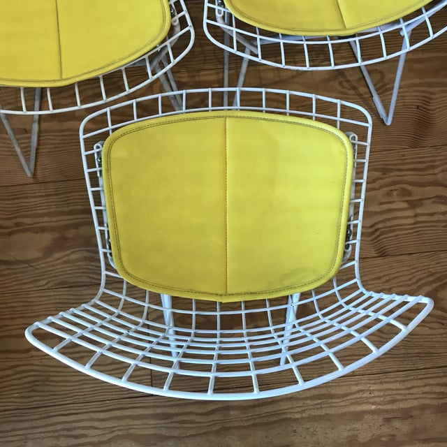 Harry Bertoia 1950s Vintage Harry Bertoia Child's Chairs - Set of 3 For Sale - Image 4 of 11