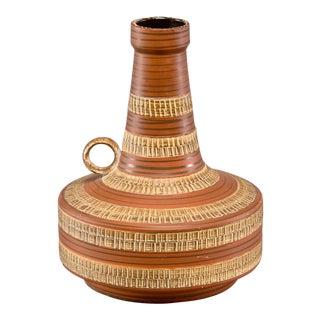 Tall Mid-Century Scheurich German Ceramic Jug