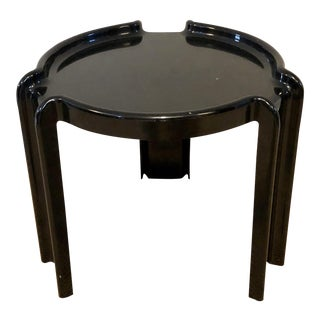Mid Century Italian Modern Side Table by Giotto Stoppino for Kartell For Sale