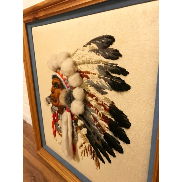 Framed Native American Style String Art | Chairish