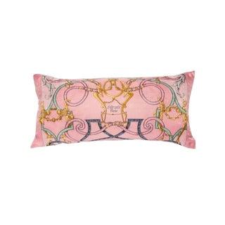 """""""L'instruction Du Roy"""" Hermès Silk Scarf Pillow For Sale"""