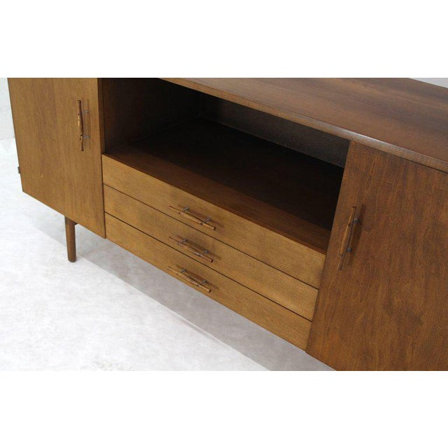 Mid 20th Century Solid Birch Planner Group Mid-Century Modern Credenza by Paul McCobb For Sale - Image 5 of 10