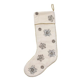 Snowflake Stocking For Sale
