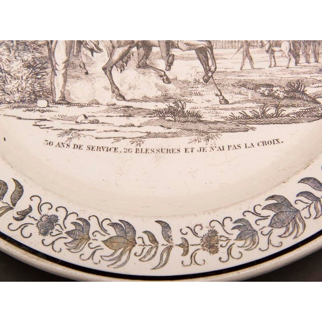 Set Eight Antique French Transferware Plates, c.1860 For Sale - Image 11 of 11