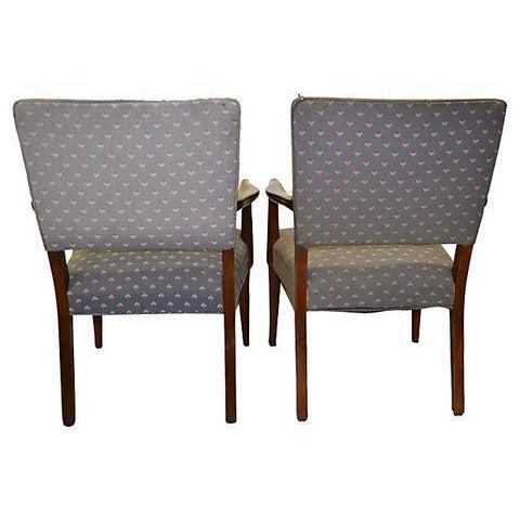 Danish Modern Finn Juhl Danish Armchairs - A Pair For Sale - Image 3 of 7