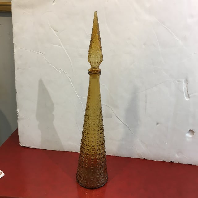 Mid-Century Italian Dotted Decanter For Sale - Image 10 of 10