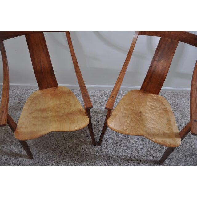Robert Erickson Signed Van Muyden Arm Chair - Image 4 of 6