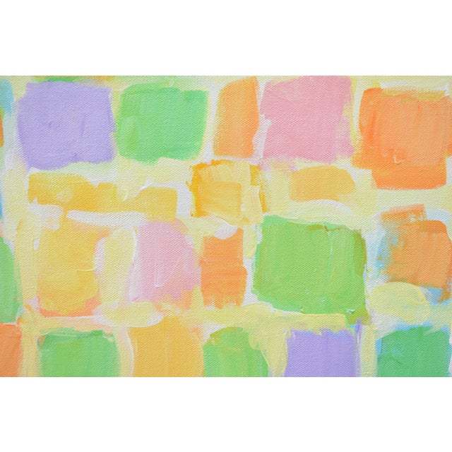 "Stephen Remick Stephen Remick ""Sprout"" Contemporary Abstract Painting For Sale - Image 4 of 10"