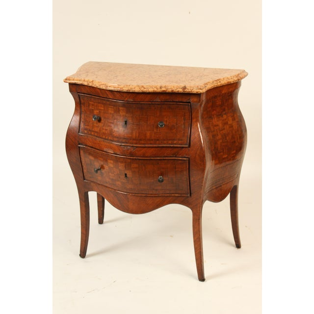 Late 19th Century 19th Century Louis XV Style Chest of Drawers For Sale - Image 5 of 12