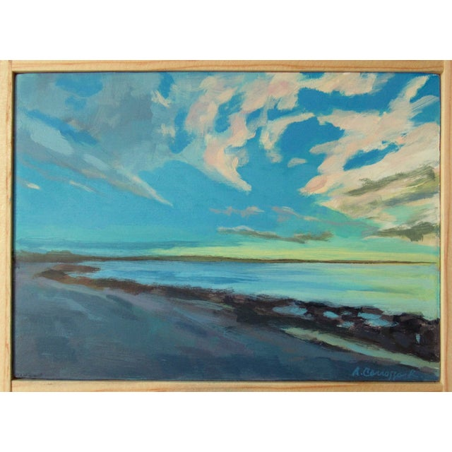 Acrylic Sunrise by Anne Carrozza Remick For Sale - Image 7 of 7
