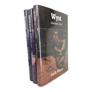 1980s Jack Vance, The Alastor Trilogy Decorative Fantasy Fiction Books - Set of 3 For Sale