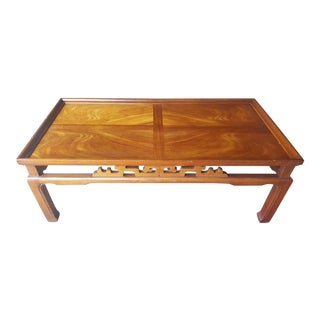 Lane Asian Modern Coffee Table For Sale