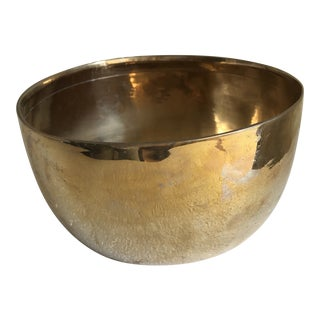 Vintage Brass Singing Bowl For Sale