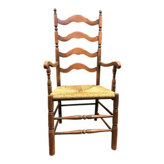 Vintage Ladder Back Chair