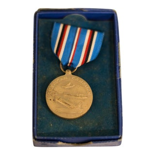 Vintage United States Naval Academy American Campaign Medal of Honor