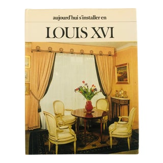 """1970's """"Louis Xvi"""" First Edition Interiors/Art Book For Sale"""