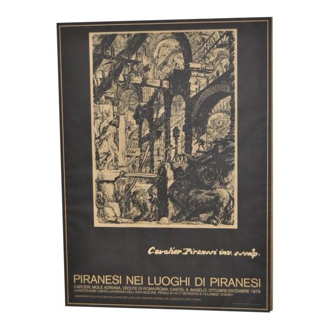 Piranesi Italian Exhibition Poster - Image 1 of 5