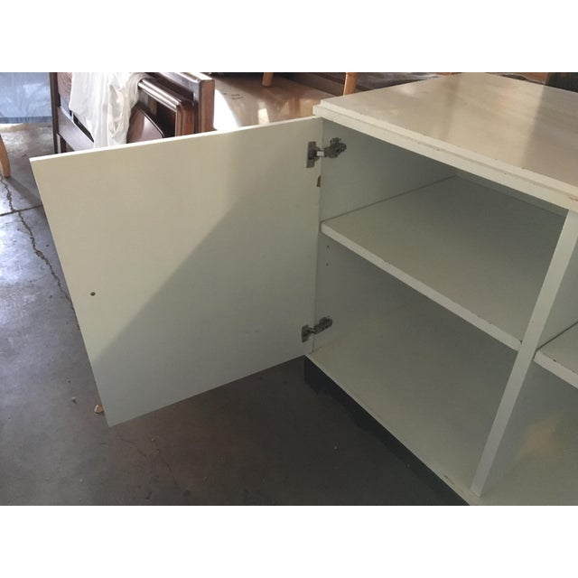 White Dry Bar Cabinet - Image 8 of 11