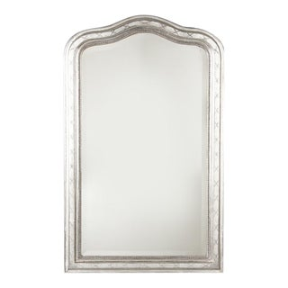 Mid 19th Century French Louis Philippe Silver Leaf Mirror For Sale