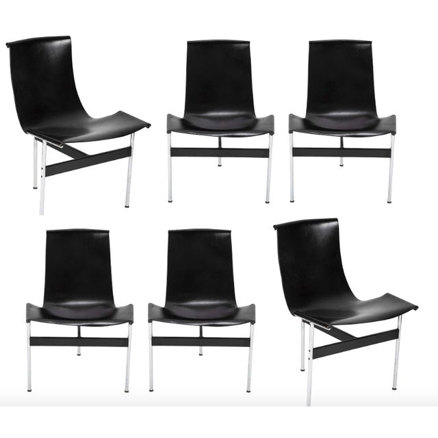 Douglas Kelly, Ross Littell and William Katavolos 1960's Dining Chairs Designed by Katavolos & Littell & Kelley-Set of 6 For Sale - Image 4 of 4