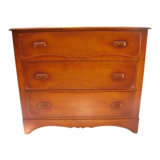 1940's Vintage Maple Dresser For Sale