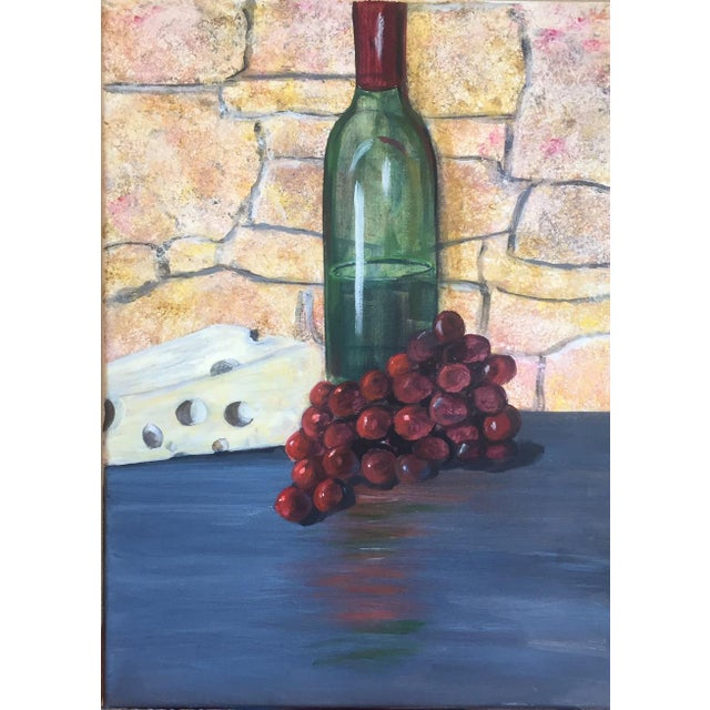 """Traditional """"Bring Out the Wine"""" Painting For Sale - Image 3 of 3"""