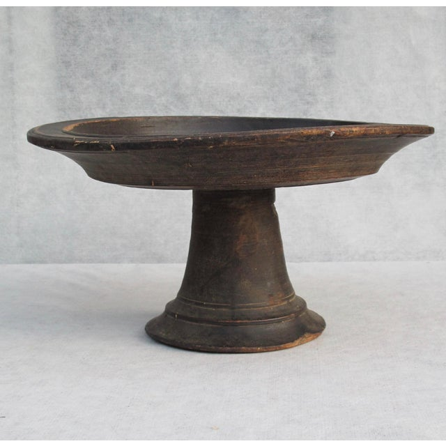 Antique Wooden Compote - Image 3 of 10