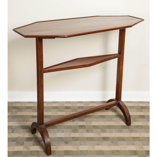 19th Century Neoclassical Directoire Mahogany Trestle Table For Sale In New York - Image 6 of 10