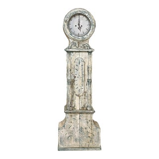 18th Century Swedish Long Case Mora Clock For Sale