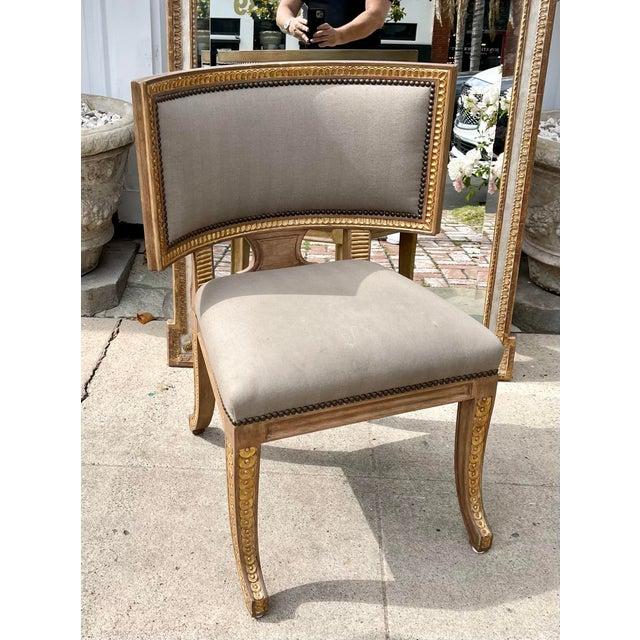 Quatrain by Dessin Fournir Swedish Neoclassical Style Side Chair