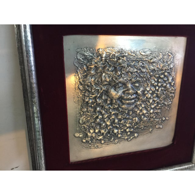Lawrence Beall Smith, American (1909 - 1989) This wall sculpture is made of .999 sterling silver, in excellent condition,...