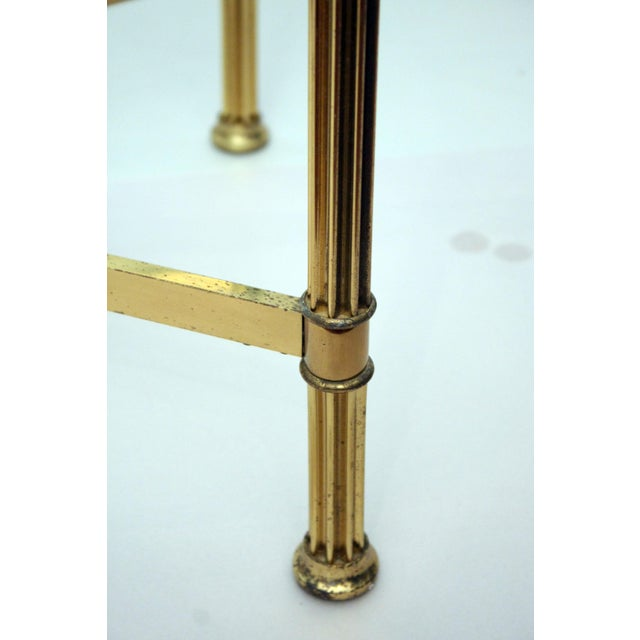 La Barge Style Brass Cocktail Table - Image 8 of 8