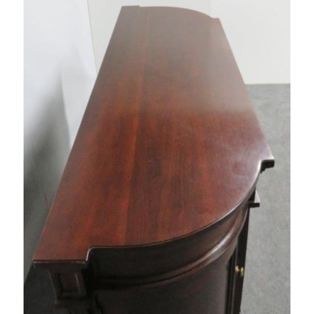Bernhardt Regency Style Bernhardt Cherry Sideboard For Sale - Image 4 of 9
